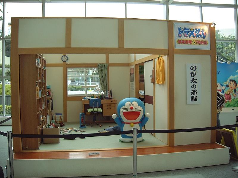 Doraemon in Nobita's Room at TV Asahi at Roppongi Hills